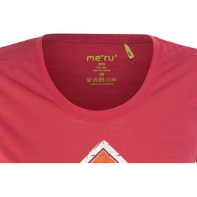Meru Enköping - T-shirt manches courtes Femme - rouge